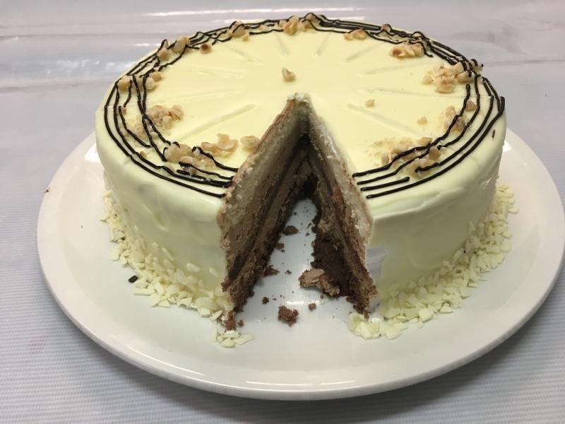 Торта Финети - бяла